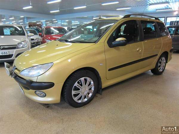 Peugeot 206 SW X Line HDi 2,0